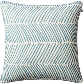 Chhatwal & Jonsson Rama Cushion Cover 50x50 cm, Off White/Heaven Blue