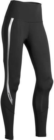2XU Hi-Rise Compression Tights Women, black/silver