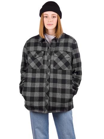 Dravus Cairn Shirt LS black / grey Naiset