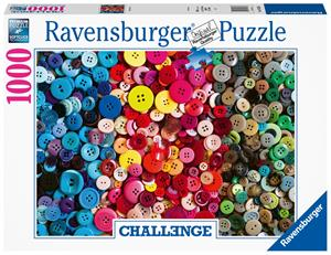 Ravensburger Challenge Buttons 1000p palapeli
