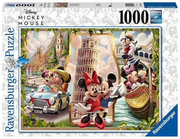 Ravensburger Vacation Mickey & Minnie 1000p palapeli