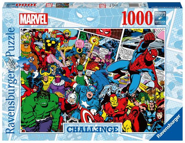 Ravensburger Challenge Marvel -1000p palapeli