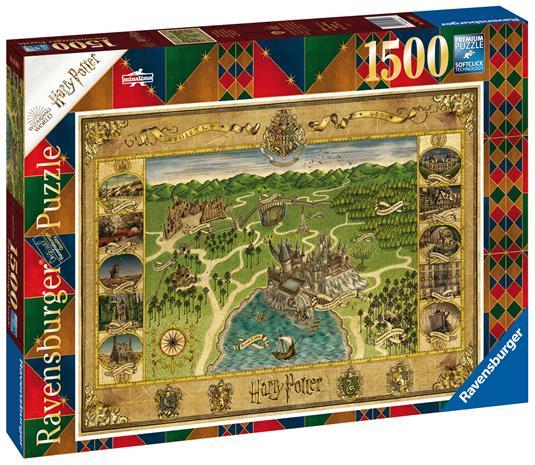 Ravensburger Map of Hogwarts 1500p palapeli