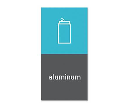 Simplehuman Magneettitarra Roska-astiaan Aluminum