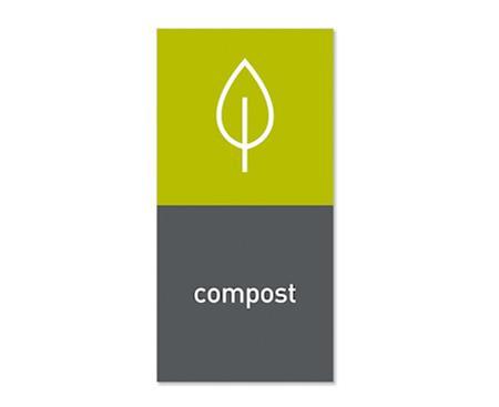 Simplehuman Magneettitarra Roska-astiaan Compost