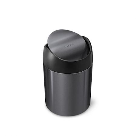 Simplehuman Mini Roska-astia Musta 1,5 l