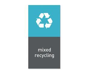 Simplehuman Magneettitarra Roska-astiaan Mixed Recycling