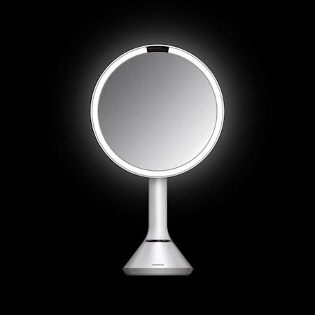 Simplehuman Peili Liiketunnistimella ja Säädettävällä valaistusvoimakkuudella Valkoinen