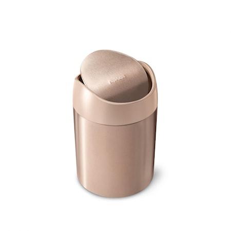 Simplehuman Mini Roska-astia Ruusukulta 1,5 l