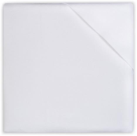 Jollein Muovitettu Lakana 40x50cm, Valkoinen