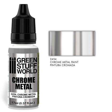 GSW Chrome Metal Paint for Brush 17ml