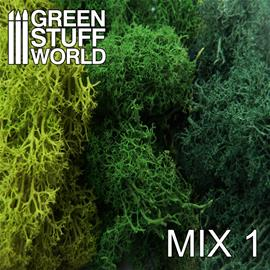 GSW Islandmoss: Green Mix 50g