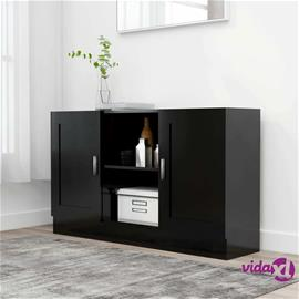 vidaXL Senkki musta 120x30,5x70 cm lastulevy