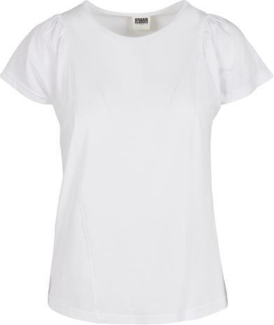 Urban Classics - Ladies Organic Gathering Tee - T-paita - Naiset - Valkoinen
