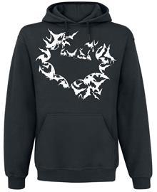 Batman - Bats Masked - Huppari - Miehet - Musta, Miesten paidat, puserot ja neuleet