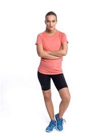 Devold Naisten Merinovillainen juoksu-t-paita, Coral / M