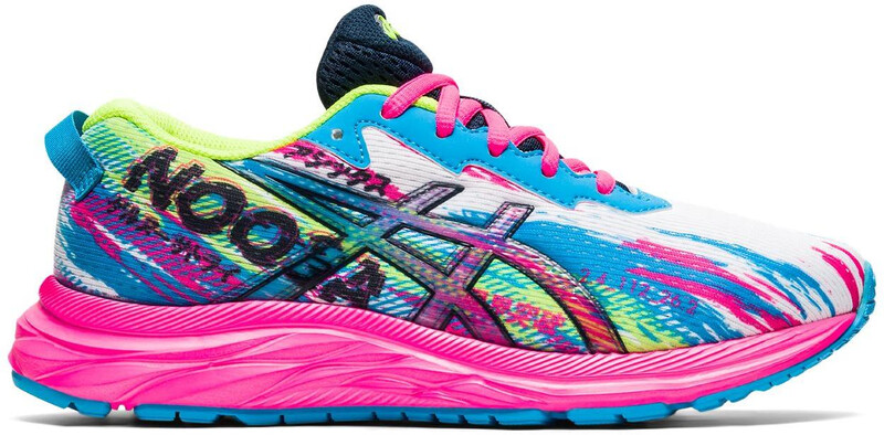 asics Gel-Noosa Tri 12 GS Shoes Kids, digital aqua/hot pink