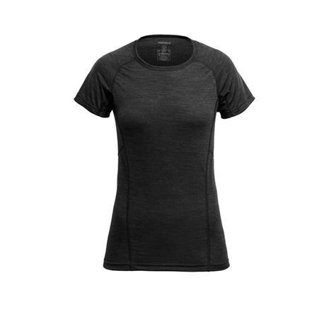 Devold Naisten Merinovillainen juoksu-t-paita, Anthracite / S