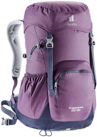 Deuter Zugspitze 22 SL Backpack Women, plum/navy, Rinkat ja reput