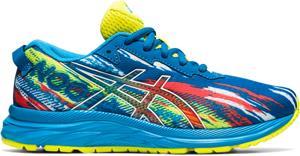 asics Gel-Noosa Tri 12 GS Shoes Kids, reborn blue/sour yuzu