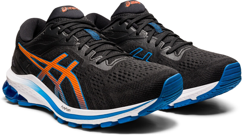 asics GT-1000 10 Shoes Men, black/reborn blue, Miesten urheilukengät