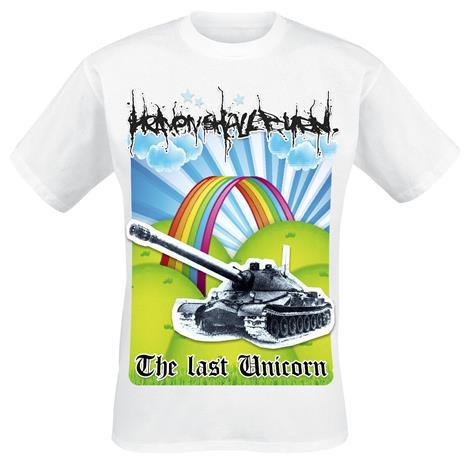 Heaven Shall Burn - The Last Unicorn - T-paita - Miehet - Valkoinen