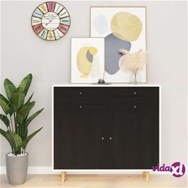 vidaXL Itseliimautuvat huonekalukalvot 2 kpl tumma puu 500x90cm PVC