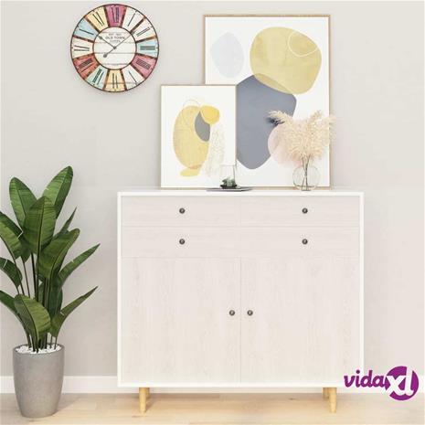 vidaXL Itseliimautuvat huonekalukalvot 2 kpl valkea puu 500x90 cm PVC
