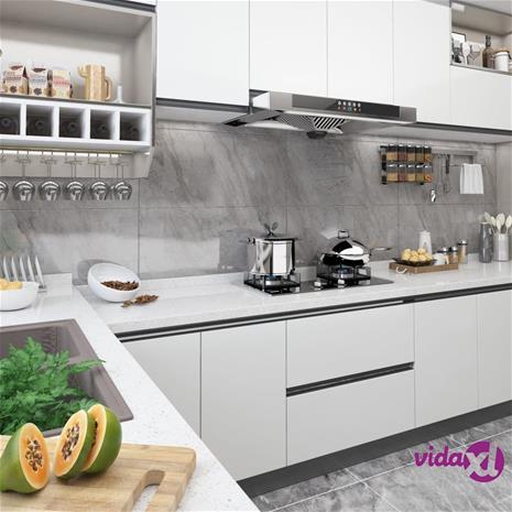 vidaXL Itseliimautuvat huonekalukalvot 2 kpl valkoinen 500x90 cm PVC