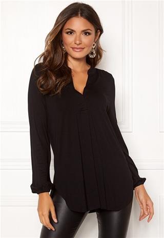 Happy Holly naisten tunika MILLY, musta 40/42, Naisten paidat, puserot, topit, neuleet ja jakut