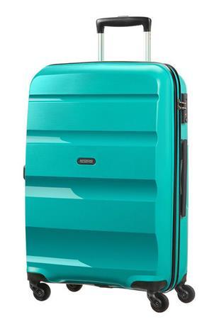 American Tourister matkalaukku Bon Air Spinner, turkoosinsininen, keskikoko