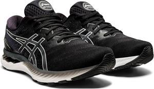 asics Gel-Nimbus 23 Shoes Men, black/white, Miesten urheilukengät