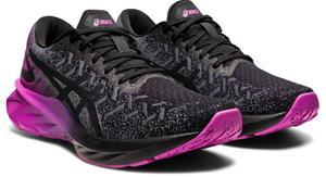 asics Dynablast Shoes Women, black/digital grape, Naisten urheilukengät