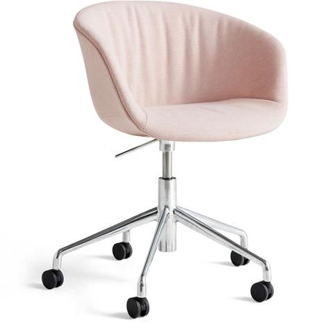Hay Hay-AAC53 Soft chair, Alu 5 star swivel, Mode Petal