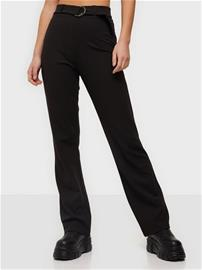 NLY Trend Ring Belt Pants Musta