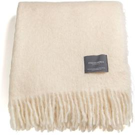 Stackelbergs Stackelbergs-Mohair Blanket 130x170 cm, Offwhite