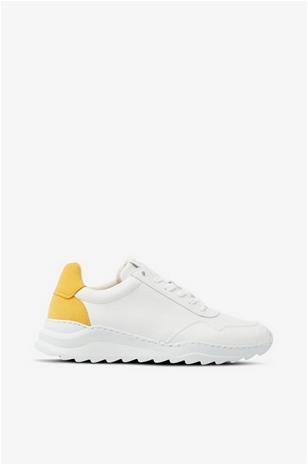 Bianco Tennarit biAdevony Plain Vegan Sneaker