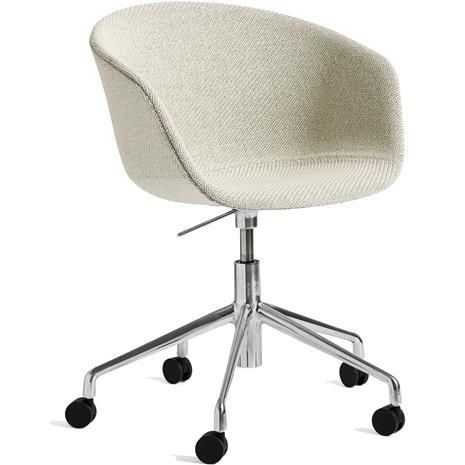 Hay Hay-AAC53 chair, Alu 5 star swivel, Coda White