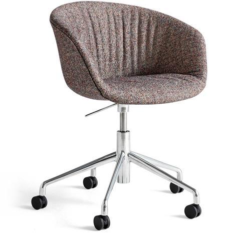 Hay Hay-AAC53 Soft chair, Alu 5 star swivel, Swarm Multi