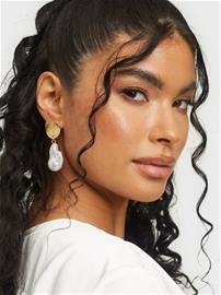 NLY Accessories Maxi Shell Earring