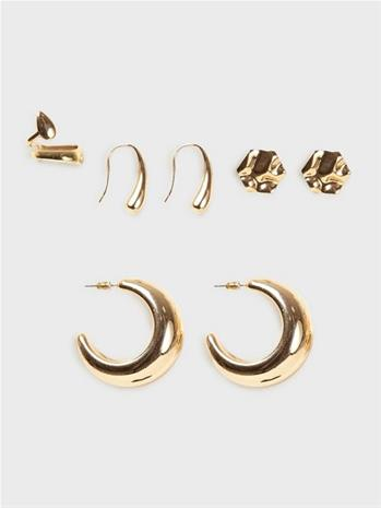 NLY Accessories Melted In Gold Earwears