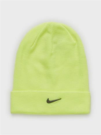 Nike U Nsw Beanie Cuffed Swoosh Lime