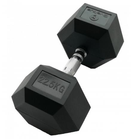 Hex Käsipainot 22,5 kg (PARI) Sveltus