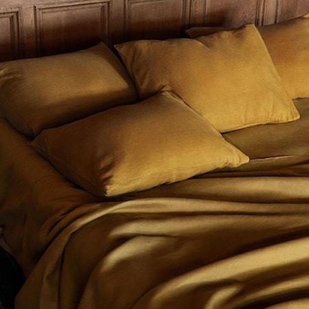 Linneverket Tyynyliina Kulta 50x60 cm