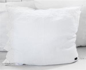 Love Warriors Tyynyliina Atelier de reve 50x60 cm - Bleach white, Peitot ja tyynyt