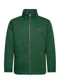 GANT D1. Midlength Jacket Ohut Takki Vihreä GANT TARTAN GREEN