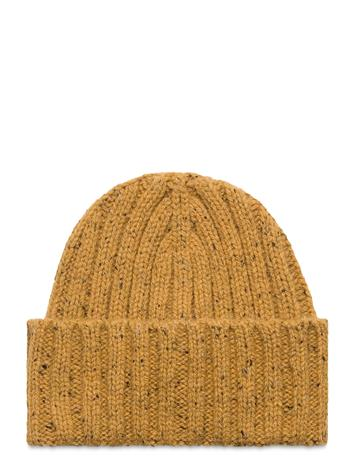 GANT D2. Neps Knit Beanie Accessories Headwear Beanies Kulta GANT HONEY GOLD