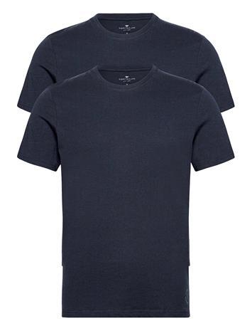 Tom Tailor Double Pack T-shirts Short-sleeved Sininen Tom Tailor SKY CAPTAIN BLUE