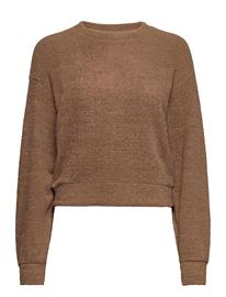 Gina Tricot Addison Sweater Svetari Collegepaita Ruskea Gina Tricot CARIBOU (7198)