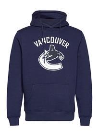 Fanatics Vancouver Canucks Iconic Primary Colour Logo Huppari Sininen Fanatics NAVY